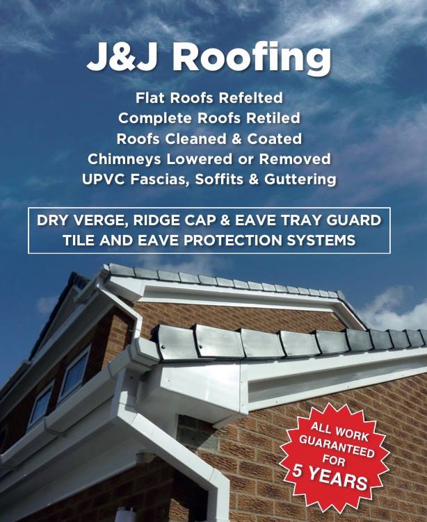 J & J Roofing Repairs West Midlands
